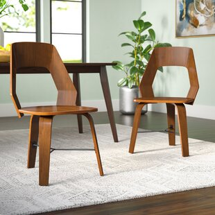 Electra Upholstered Dining Chair (Set of 2) Langley Street