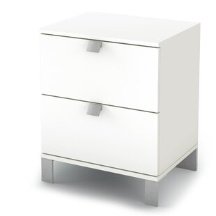 Ardin 2 Drawer Nightstand