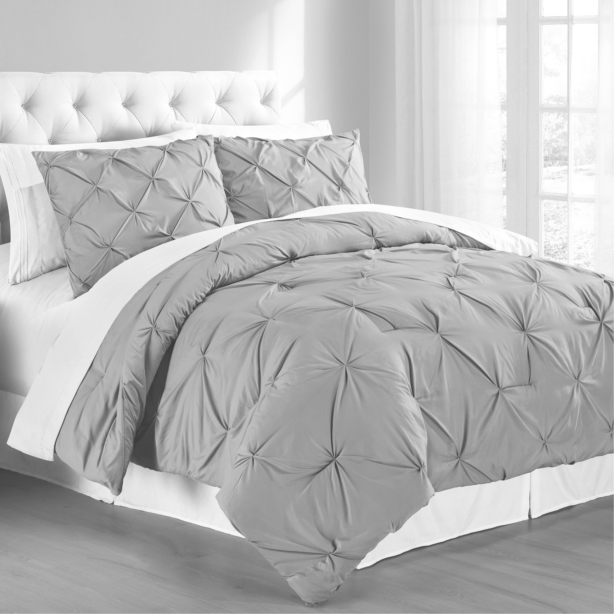 Gray Comforter Sets Free Shipping Over 35 Wayfair