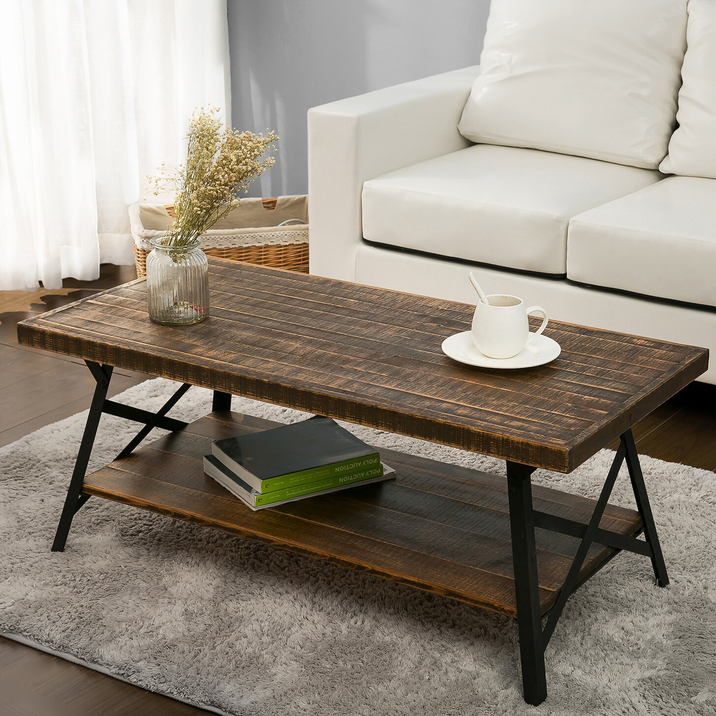 Reclaimed Wood Coffee Tables You ll Love