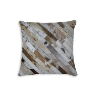 Collings Cowhide Throw Pillow