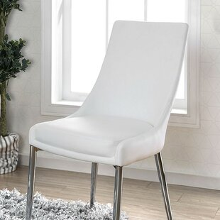 Waldron Upholstered Dining Chair (Set of 2) Orren Ellis