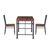 Patterson 3 Piece Chairs Set by Williston Forge