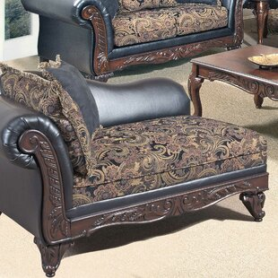 Emmons Floral Chaise Lounge by Astoria Grand Wonderful