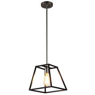 Agnes I 1-Light Lantern Pendant By Ove Decors