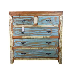 Luke 5 Drawer Double Dresser