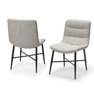 Nanci Upholstered Dining Chair (Set of 2) Brayden Studio