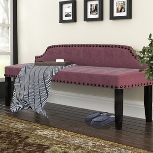 Millersburg Upholstered Bench by Three Posts