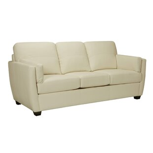 Woodall Leather Sofa