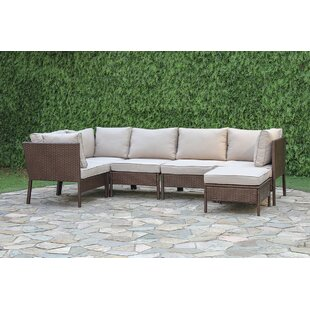 Ashland 6 Piece Sectional Seating Group with Cushions