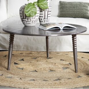 Drumm Coffee Table with Tray Top
