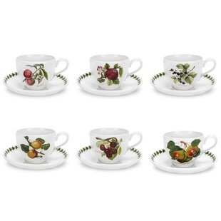 Pomona Breakfast 6 Piece Coffee Cup Set