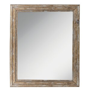 Industrial Wall Mirror industrial & rustic mirrors you'll love   wayfair