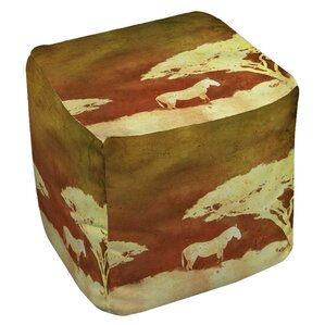 Safari Sunrise 3 Ottoman by Manual Woodworke..