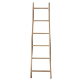 Decorative Bamboo 6 ft. Blanket Ladder by Bungalow Rose