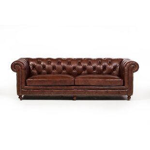 Atkins Chesterfield Sofa by Canora Grey