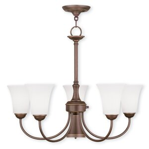 Grady Modern 5-Light Shaded Chandelier