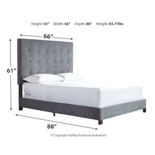 Gomes Upholstered Panel Bed