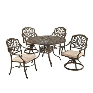 Regent 5 Piece Dining Set with Cushions