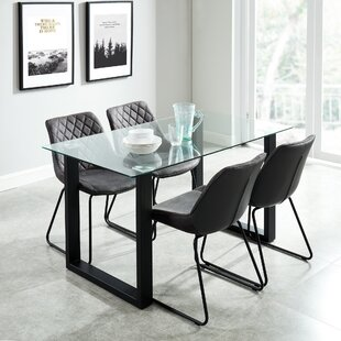 Lorri Contemporary 5 Piece Dining Set Wrought Studio