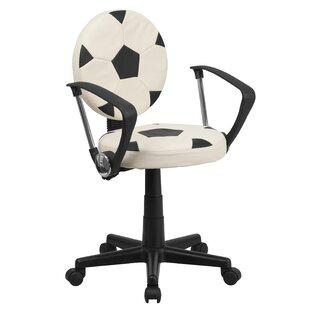 Comparison Gilder Soccer Mid-Back Kids Desk Chair ByZoomie Kids