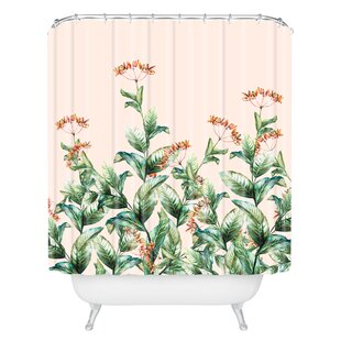 Marta Barragan Camarasa Botanical Single Shower Curtain