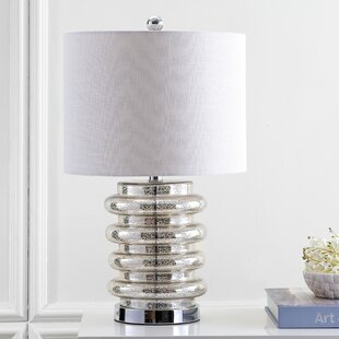 Best Deals Linares LED Glass 23 Table Lamp By Wrought Studio
