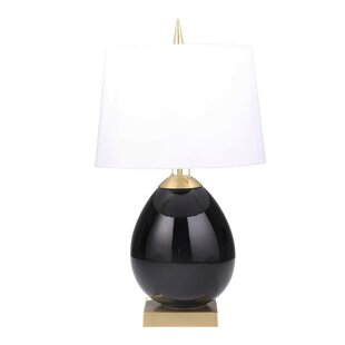 Kourtney Ceramic Ovoid 30 Table Lamp