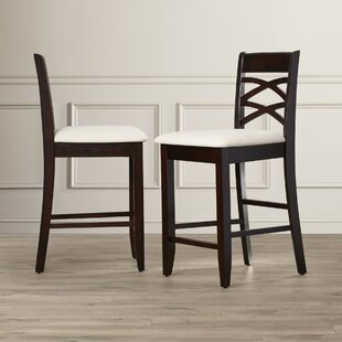 Apple Valley 24 Bar Stool (Set of 2) Charlton Home