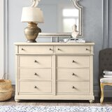 Jaclin 8 Drawer Double Dresser by Kelly Clarkson Home