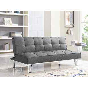 Review Corwin Convertible Sofa by Serta Futons