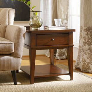 Reviews Wendover End Table with Storage By Hooker Furniture