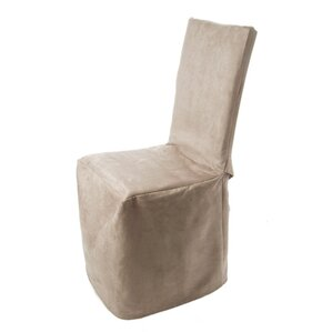 Montana Pleated Chair Slipcover by Madura
