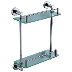 Tampered Glass Shower Shelf
