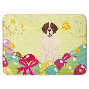 Easter Eggs Moscow Watchdog Memory Foam Bath Rug