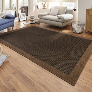 Natural Dark Brown Rug