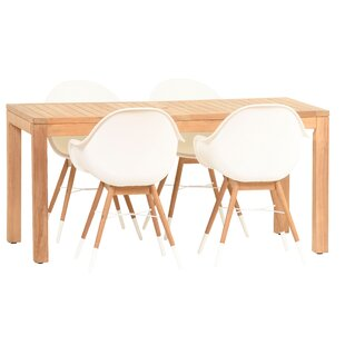 Cossette 5 Piece Dining Set