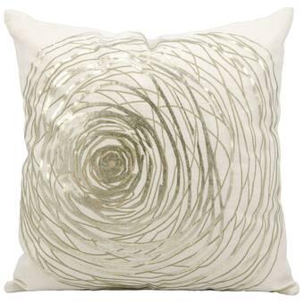 Blue Red Kess InHouse Anne Labrie Swirl Away Throw Pillow 18 x 18