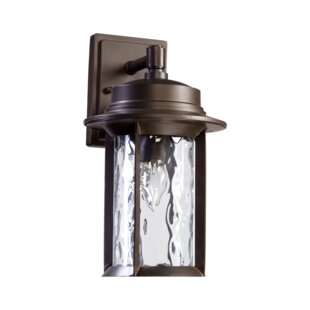 Inexpensive Osmond 1-Light Outdoor Wall Lantern By Three Posts