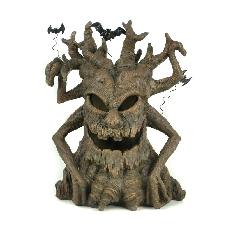 The Holiday Aisle Touch Of Nature Led Spooky Tree Wayfair