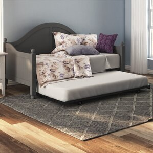 Argon Daybed with Trundle by Alcott Hill Image