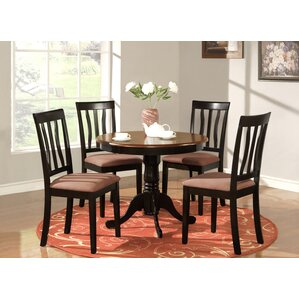 Woodward Traditional 5 Piece Dining Set by Three Posts
