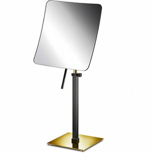 Read Reviews Maisonet Adjustable One-Sided Makeup/Shaving Mirror By Latitude Run