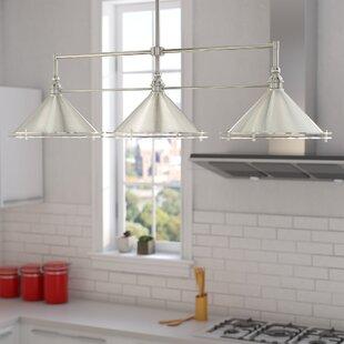 Luz 3-Light Kitchen Island Pendant