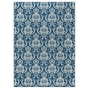 Pearl Blue Indoor/Outdoor Area Rug