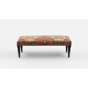 Lyell Upholstered Bench by Millwood Pines Comparison