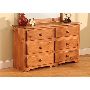Top Reviews Cambridge 6 Drawer Double Dresser by Chelsea Home Furniture