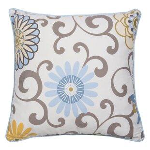 Pom Pom Spa Cotton Throw Pillow
