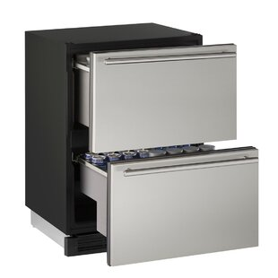 1000 Series Reversible Stainless Steel 24-inch 5.4 cu. ft. Undercounter Refrigeration