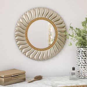 Round Mirrors Youu0027ll Love | Wayfair